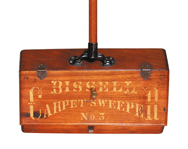 The first BISSELL sweeper